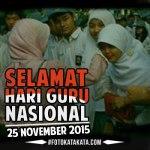Dp Bbm Hari Guru Nasional 2015