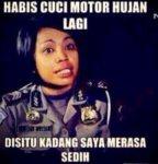 Meme Polwan 86 Net TV