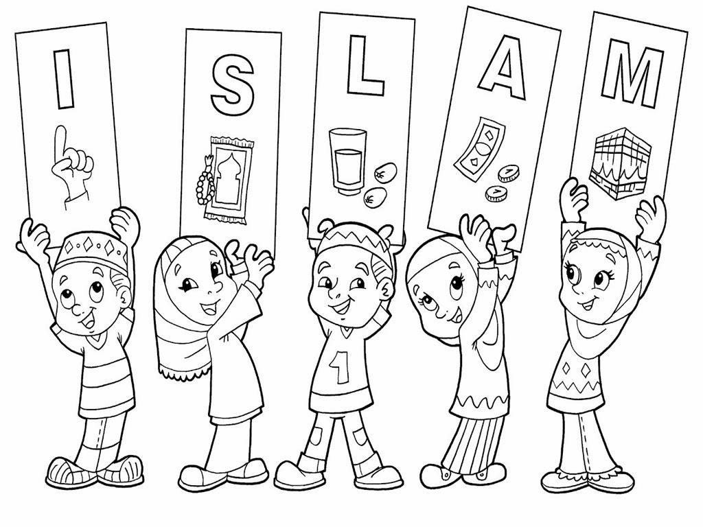 Gambar Mewarnai Islam Gambar Aneh Unik Lucu