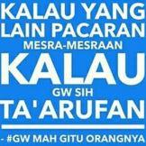Kata Kata Gue Mah Gitu Orangnya