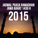 Jadwal Imsakiyah Jawa Barat 1436 H