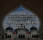 Jadwal Puasa Aceh 2015