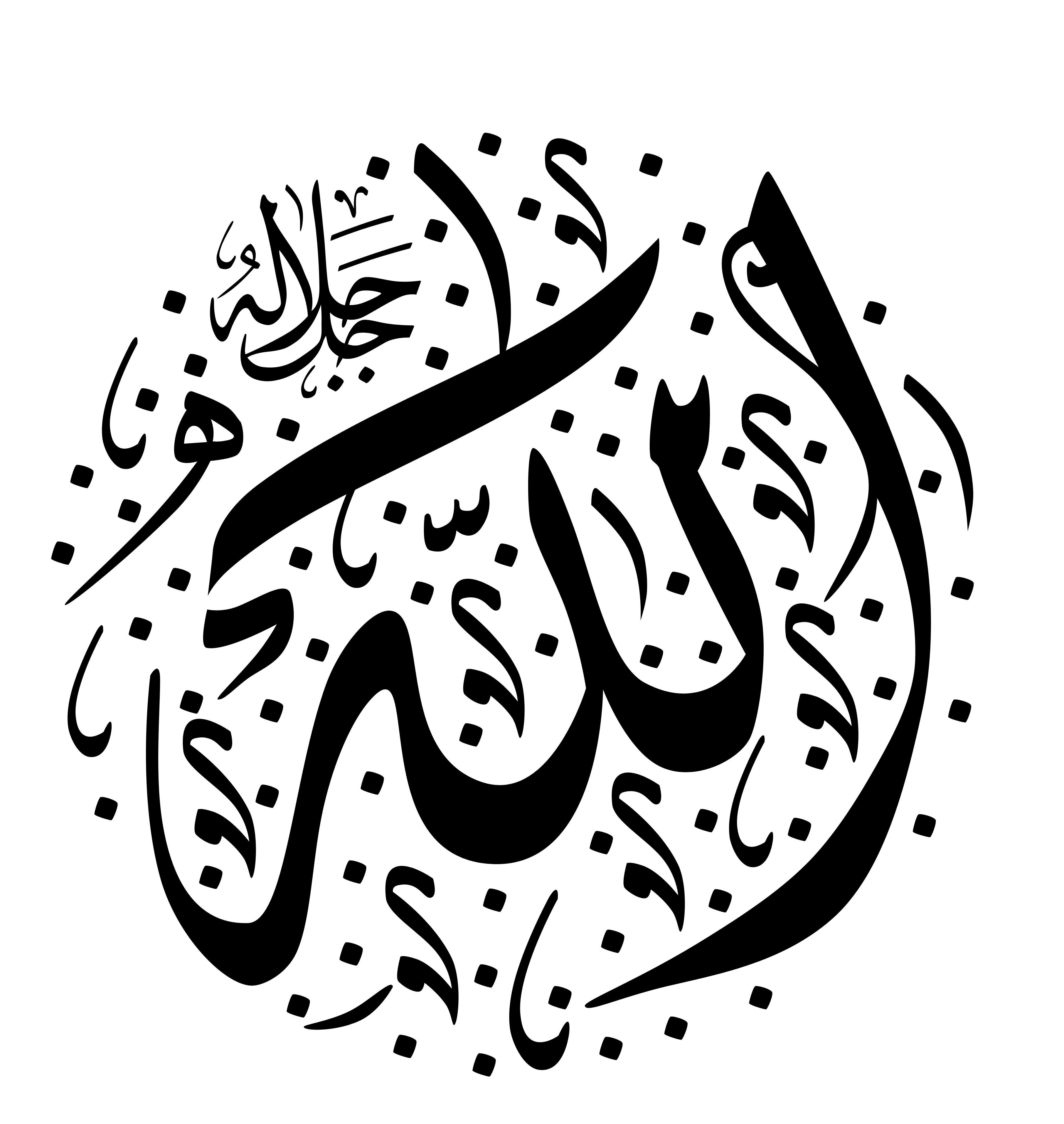 Kumpulan Gambar Kaligrafi Islami | Gambar Aneh Unik Lucu