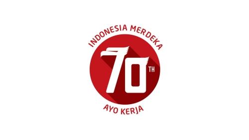 Logo Resmi Kemerdekaan Indonesia Ke 70