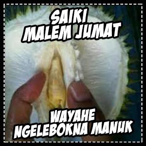 DP BBM Malam Jumat Lucu Gokil Bahasa Jawa 2016