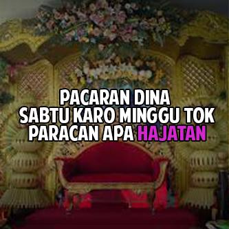 Status Lucu Malam Minggu Bahasa Jawa