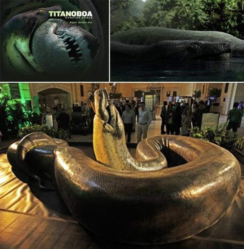 Ular Terbesar di Dunia Titanoboa Kembali Mengganas