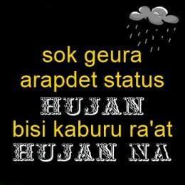 Dp Bbm Sunda Lucu Hujan