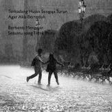 Gambar Kata Cinta Romantis Turun Hujan