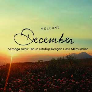 Dp Bbm Welcome Desember