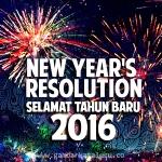 Gambar Selamat Tahun Baru 2016