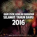 Gambar Ucapan Selamat Tahun Baru 2016