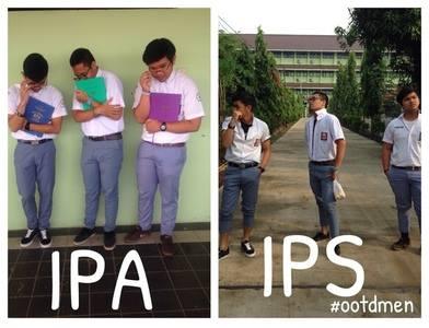 Gambar Lucu Anak IPS VS IPA
